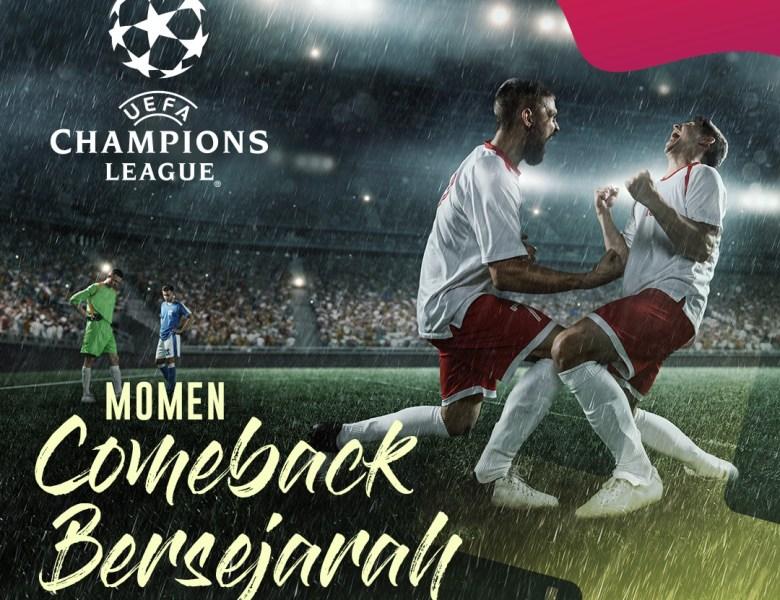 3 Momen Comeback Bersejarah dalam Liga Champion