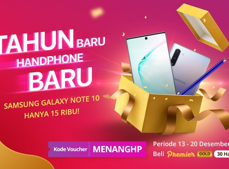 Tahun Baru Handphone Baru!!