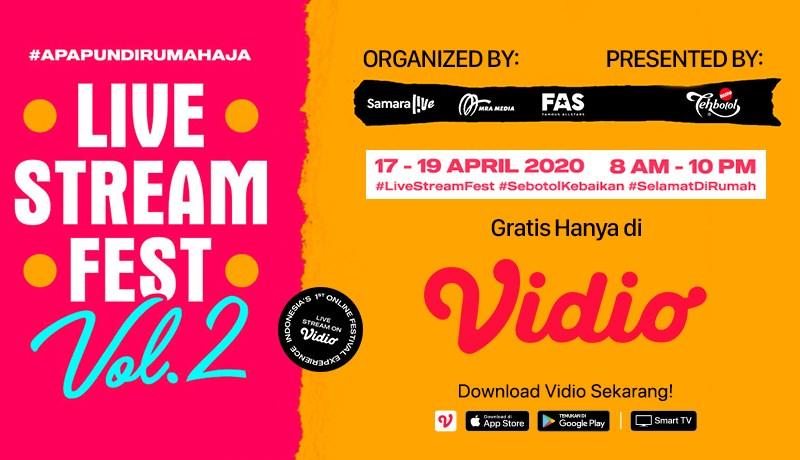 Seru-Seruan dengan Streaming #TAYTB  Live Stream Fest di Vidio