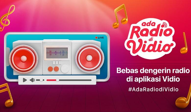 Streaming Radio di Vidio, dari Dengerin Musik Hingga Update Berita Terbaru