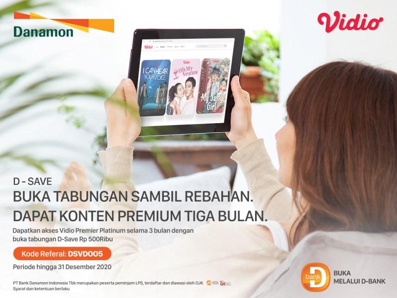 Buka Rekening Danamon D-Save Secara Online, Selain Aman Dari Covid-19 Dapat Bonus Vidio Premier Platinum