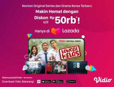 Langganan Platinum Makin Hemat Dengan Extra Diskon 5% dari Lazada!
