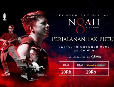 Mengenang Kembali lagu-lagu Peterpan Dengan Menyaksikan Konser Art Visual Noah 'Perjalanan Tak Putus'