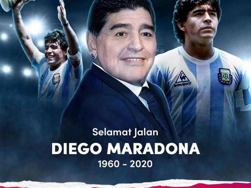 Diego Maradona Meninggal, Ini 10 prestasi Diego Maradona si Tangan Tuhan