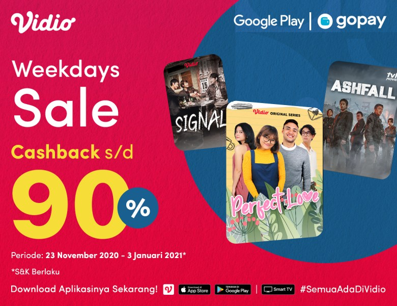 GoPay Weekdays Sale