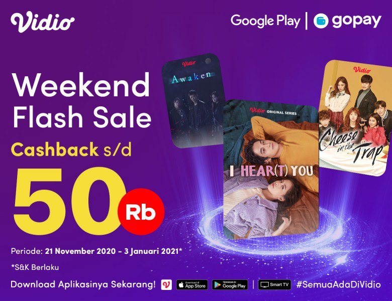GoPay Weekend Sale End of Year Flash Sale 2020