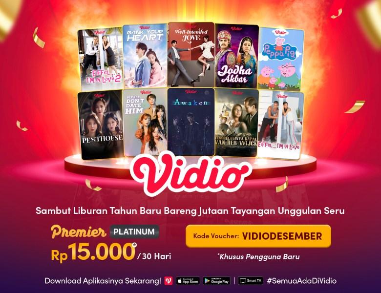 Kumpulan Promo Vidio Bulan Desember, Jangan Sampai Terlewat