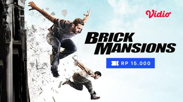 Nonton Brick Mansions di Vidio Rental, cuma Rp 15.000,-
