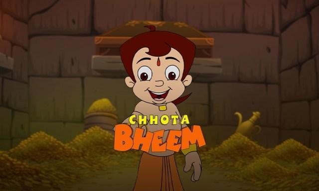 Kartun lucu Chhota Bheem di Vidio.
