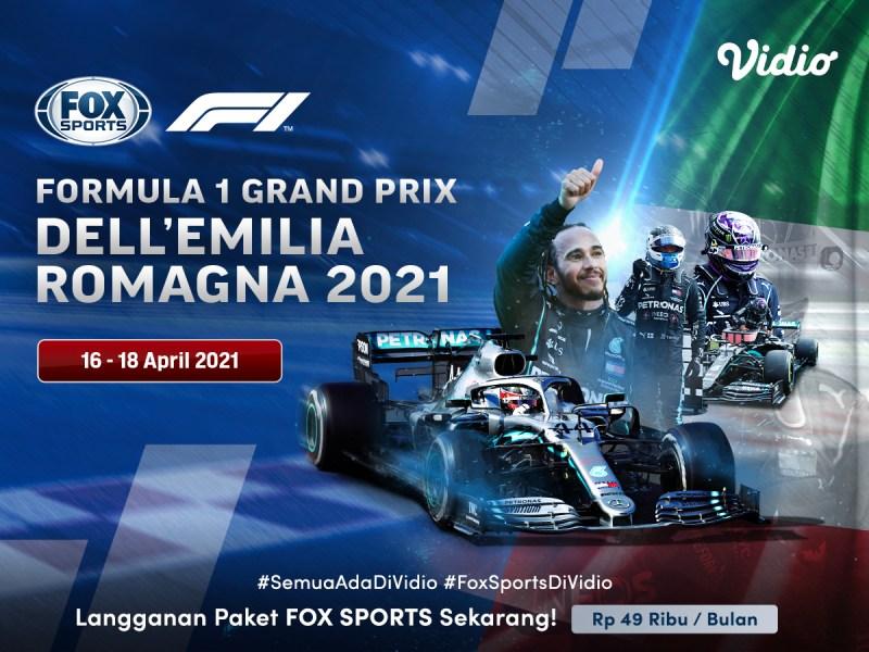 Update Kalender Formula 1 2021 Terbaru, Turnamen F1 Italia Dilaksanakan 18 April