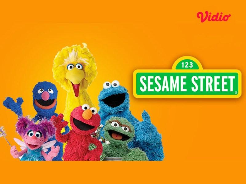 10 Karakter Sesame Street Paling Disukai Anak, Nonton di Vidio Bersama Keluarga