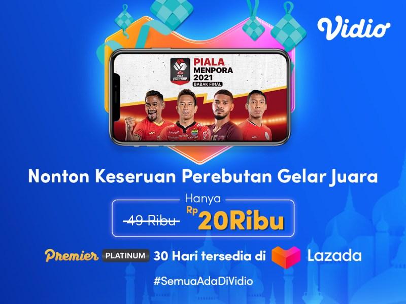 Promo Ramadhan di Lazada, Bebas Nonton Piala Menpora!