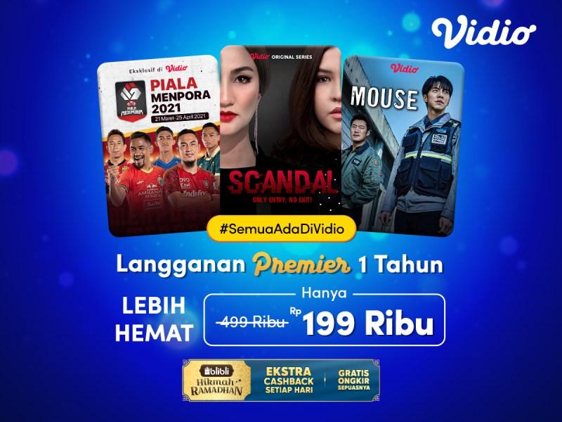 Promo Ramadhan di Blibli, Langganan Premier Platinum 1 Tahun Lebih Hemat