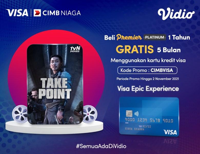 Beli Vidio Premier Platinum Dengan Promo Kartu Kredit CIMB Niaga, Gratis Ekstra 5 Bulan!