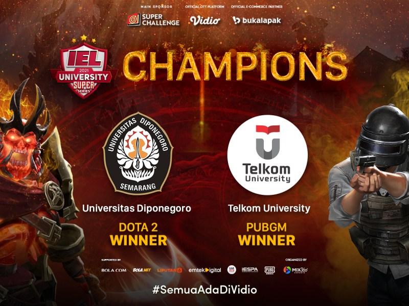 IEL University Season 3 Telah Sukses Digelar, Dua Kampus Ternama Keluar Sebagai Juara