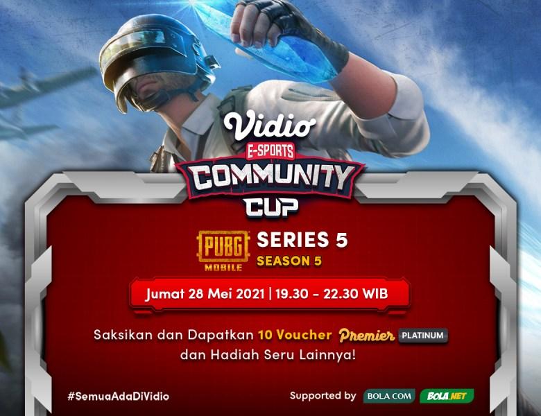 Live Streaming Vidio Community Cup Season 5 – PUBG 5