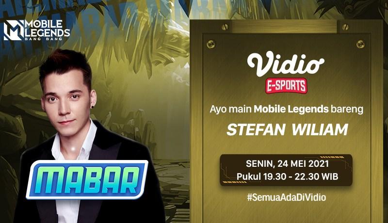 Streaming MABAR Mobile Legends bersama Stefan William
