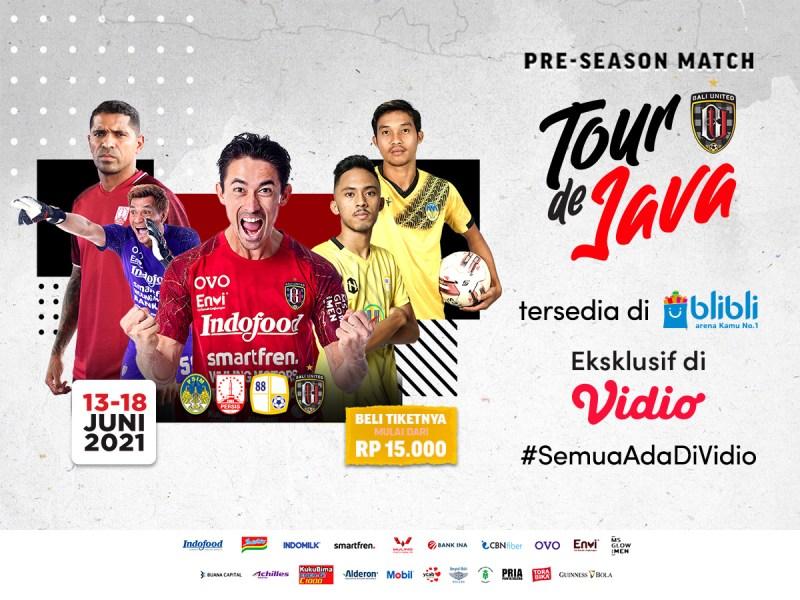 Beli Tiket Pre-Season Bali United 'Tour de Java' di Blibli