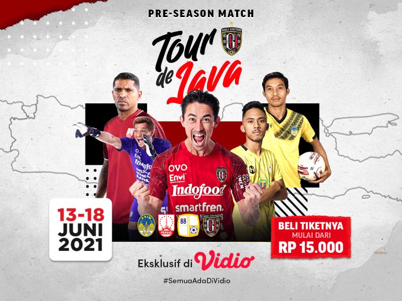 Jadwal dan Link Live Streaming Tour de Java Bali United: Persiapan Jelang Piala Wali Kota Solo, Eksklusif di Vidio