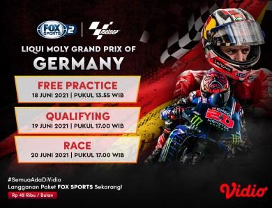 Jadwal dan Link Live Streaming MotoGP Jerman 2021: Marc Marquez Siap Patahkan Prediksi Alberto Puig