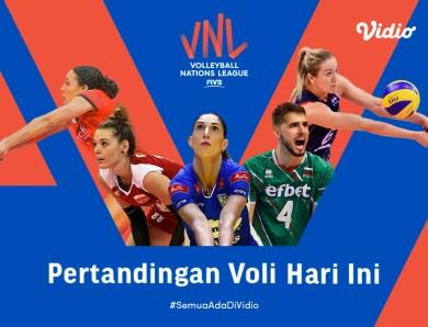 VNL 2021 Argentina vs Serbia Big Match Hari Ini: Argentina Siap Jegal Serbia, Kamis 17 Juni 2021 Eksklusif di Vidio