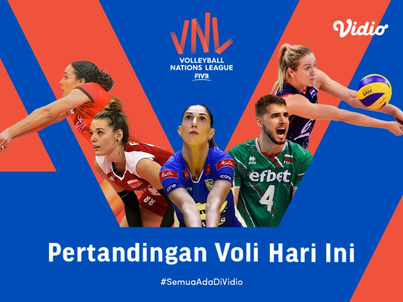 VNL 2021 Big Match Hari Ini: Jepang vs Polandia, Rabu 16 Juni 2021 Eksklusif di Vidio
