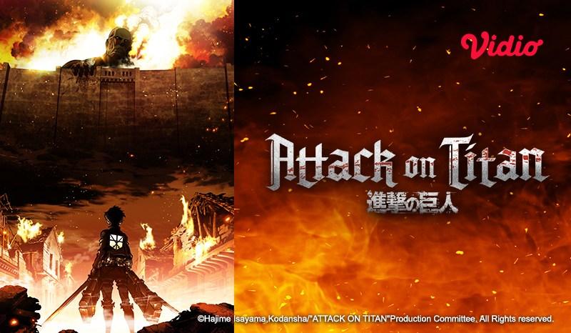 Nonton Serial Anime Attack on Titan, Kisah Perjuangan Hidup Umat Manusia dalam Tembok Besar