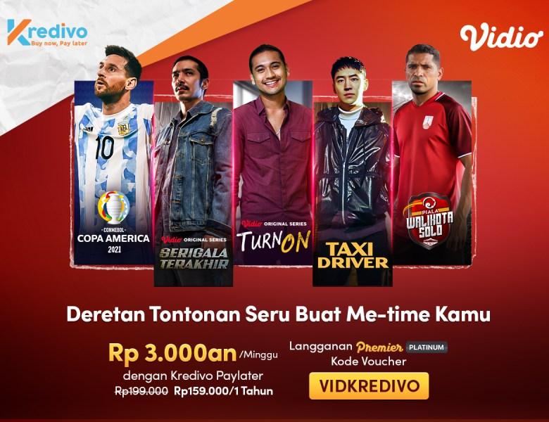 Nonton Sports dan Drama Terbaru Lebih Hemat dengan Promo Kredivo