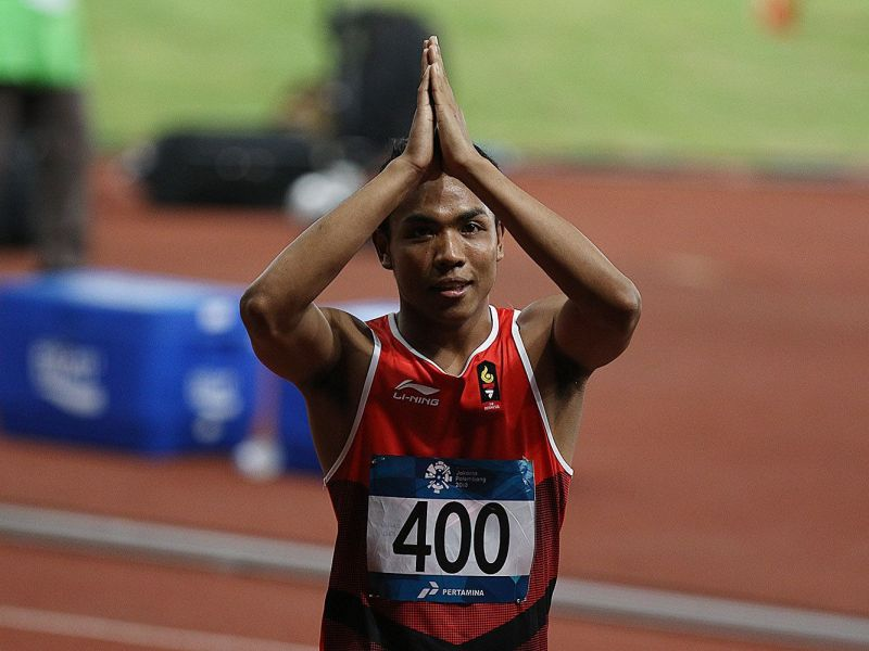 Seperti Ini Perjalanan dan Persiapan Lalu Muhammad Zohri untuk Olimpiade Tokyo 2020