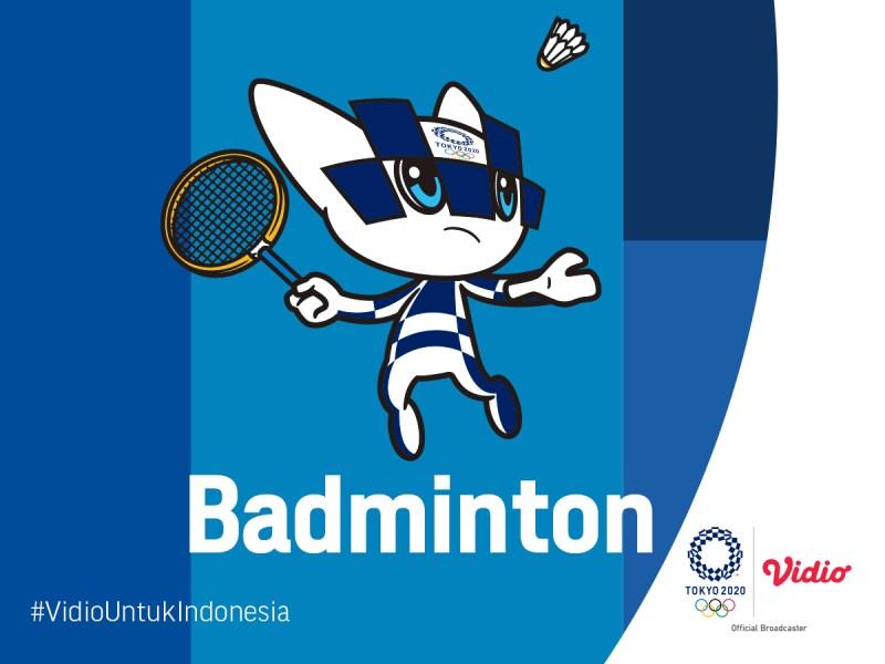 Jadwal Live Streaming Babak Knockout Badminton Indonesia di Olimpiade Tokyo 2020