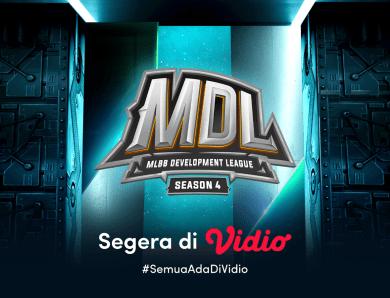 Jangan Lupa! Nantikan Live Streaming MDL Season 4 Segera Eksklusif di Vidio