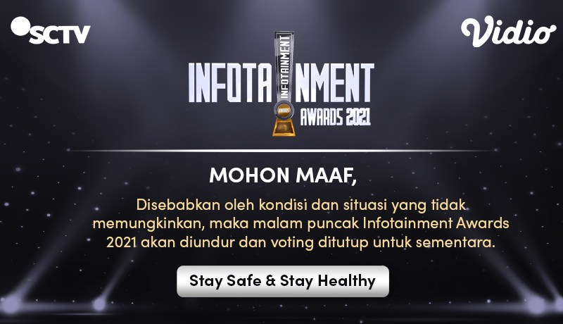 Karena Pandemi, Perhelatan Infotainment Awards 2021 Resmi Ditunda