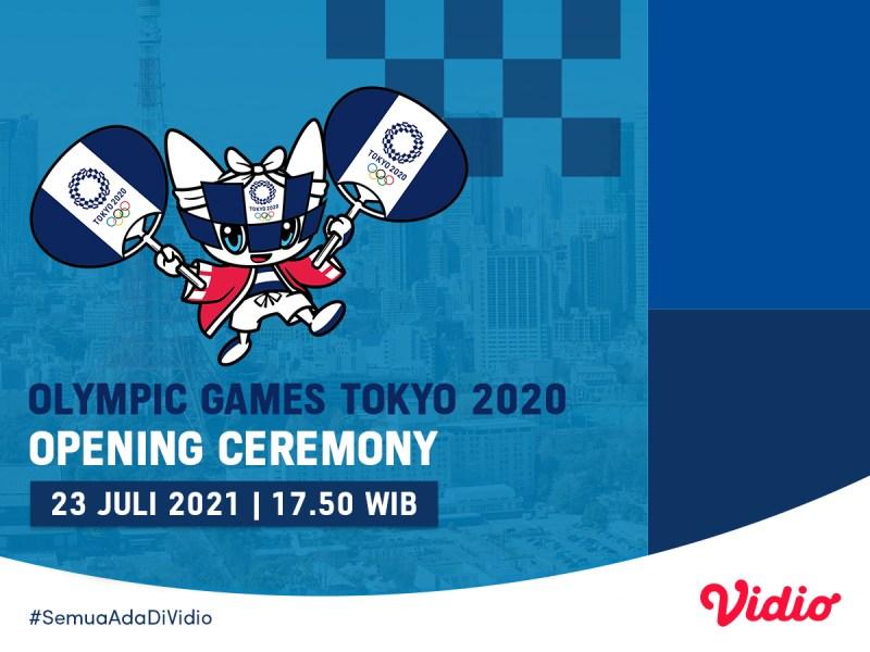 Jadwal dan Link Live Streaming Opening Ceremony Olimpiade Tokyo 2020, Hanya Bisa Dihadiri Sekitar 1.000 Tamu VIP!