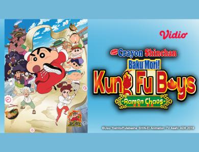 "Sinopsis ""Crayon Shinchan : Bakumori Kung Fu Boys! – Ramen Chaos"""