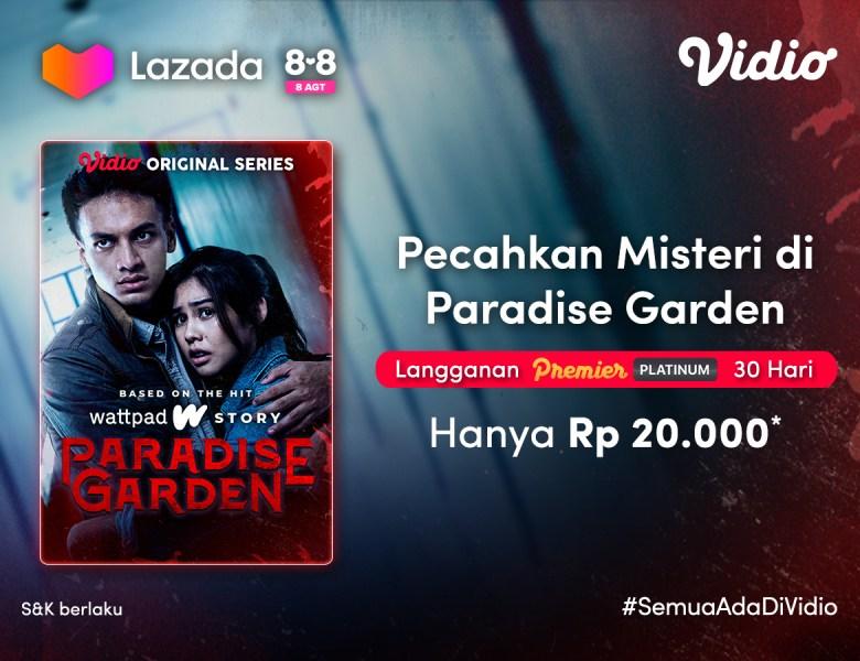 Premier Platinum Cuma 20 Ribu di Promo 8.8 Lazada, Nonton Paradise Garden Sepuasnya!