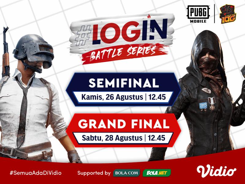 Link Live Streaming Login Battle Series Season 5 PUBG Mobile Grand Final