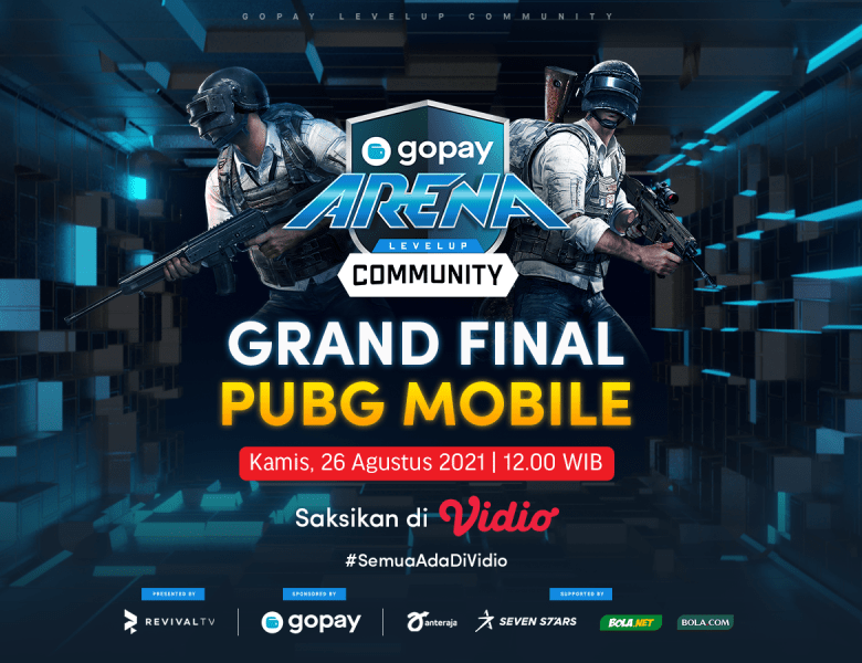 Streaming GoPay Arena Level Up Community PUBG Mobile Week 22