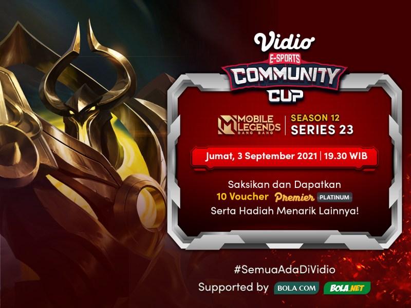 Nonton Vidio Community Cup Season 12 Mobile Legends Final