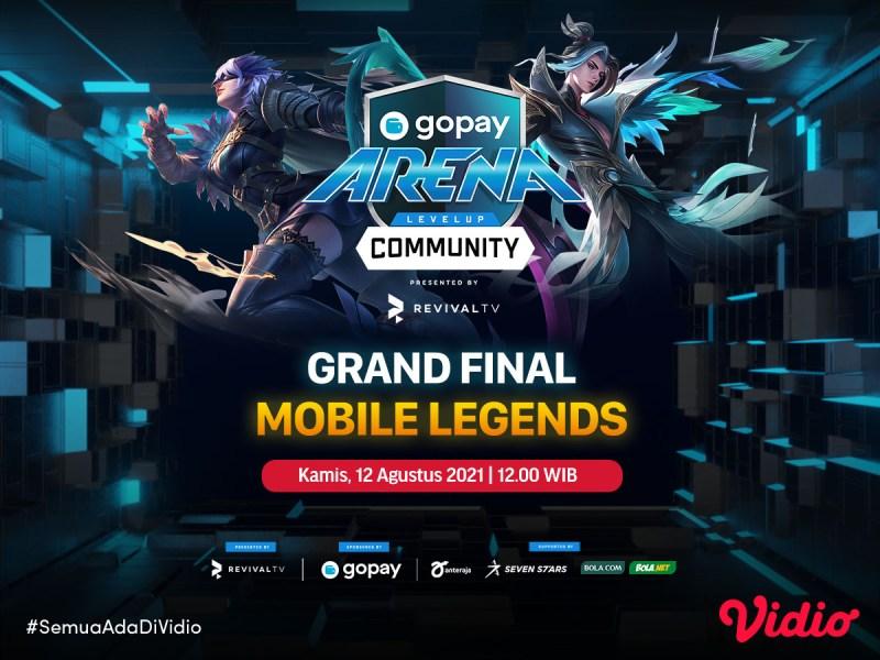 Live Streaming GoPay Arena – Mobile Legends Week 20