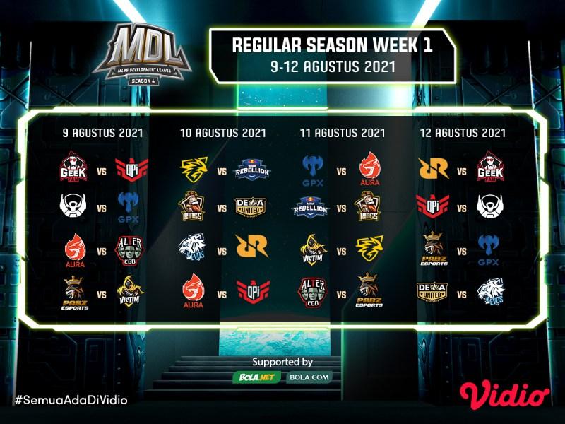 Streaming MDL Reguler Season 4, Selasa 10 Agustus 2021