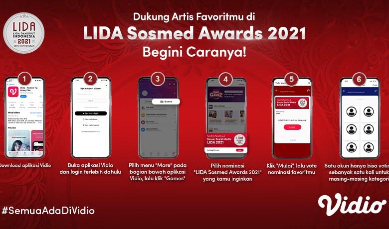 Cara Voting Peserta Lida 2021 lewat Aplikasi Vidio, Dukung Duta Favoritmu Jadi Pemenang!