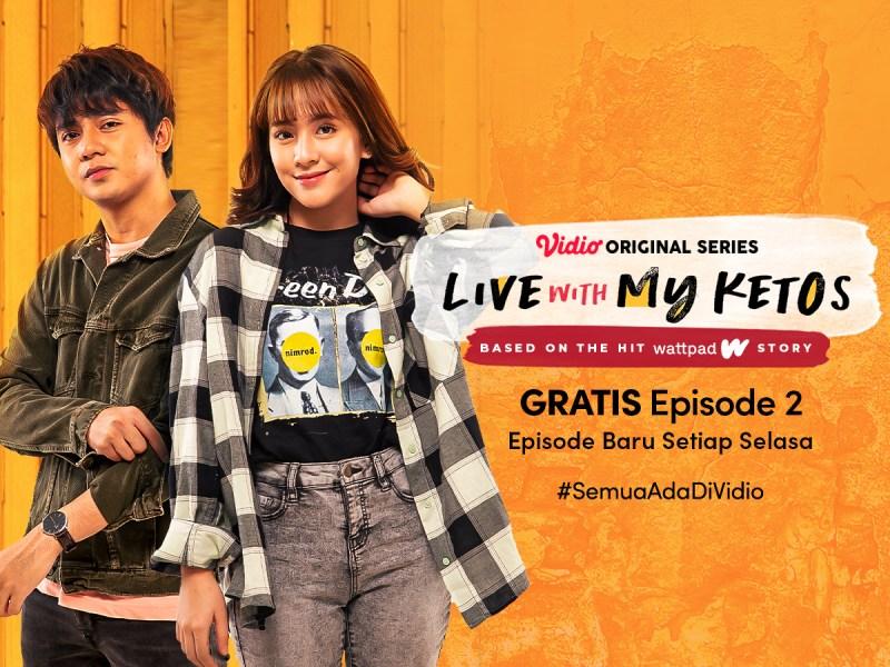 Preview Live With My Ketos Episode 2, Tonton Gratis di Vidio!