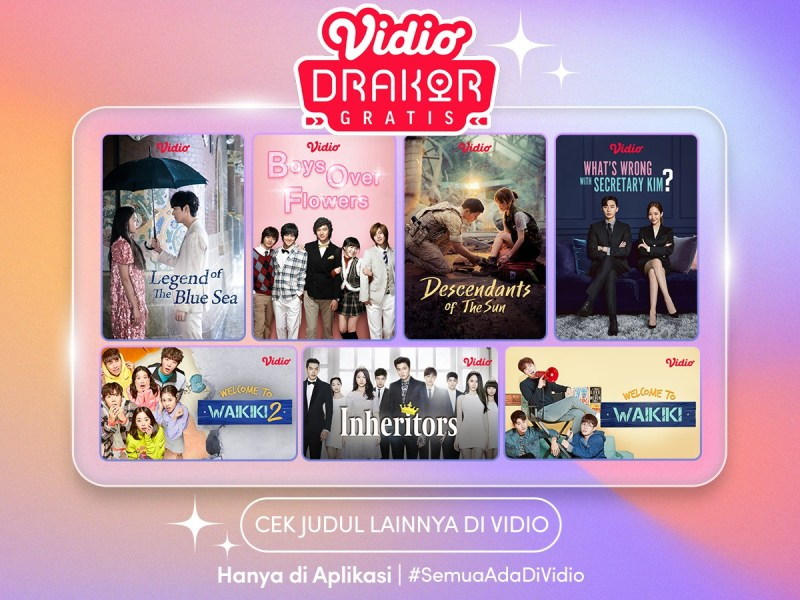 Drama Korea Pilihan Terbaik Bulan Oktober, Nonton Gratis di Vidio, Ada What's Wrong With Secretary Kim?