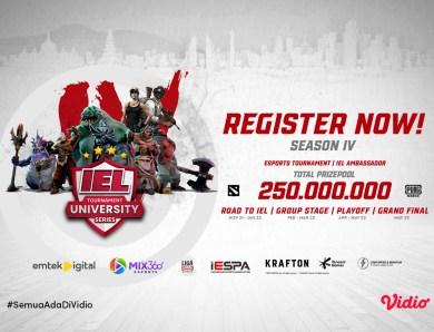 Jangan Lupa Nonton IEL 4 University Super Series Hanya di Vidio