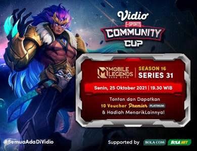 Nonton Siaran Langsung Vidio Community Cup Season 16 Mobile Legends