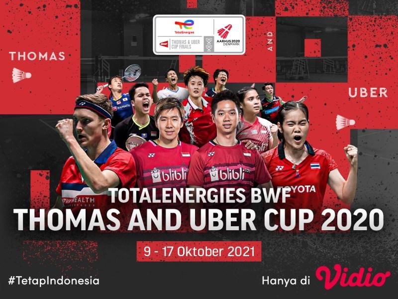 Ayo Saksikan Perjuangan Indonesia di Thomas dan Uber Cup 2020