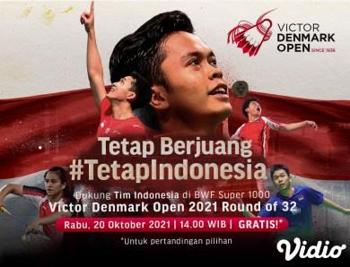 Link Live Streaming Denmark Open 2021 – Giliran Ahsan/Hendra yang Berjuang