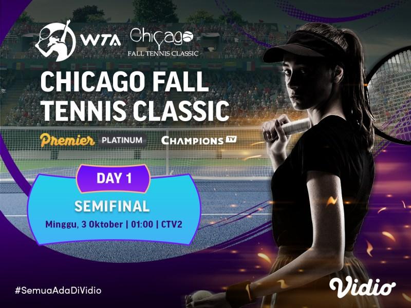 Jadwal Streaming WTA Chicago Fall Tennis Classic 2021 Semifinal dan Final