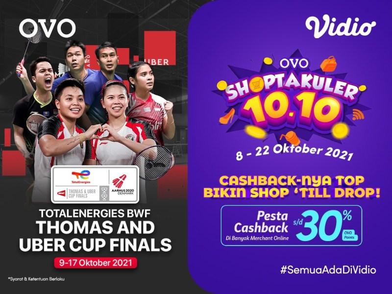 Cashback 30% Langganan Vidio Premier Di Promo Shoptakuler OVO!
