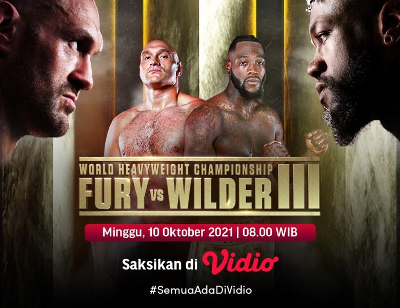 Tinju Dunia Fury vs Wilder Jilid 3, Jadwal dan Link Live Streaming di Vidio